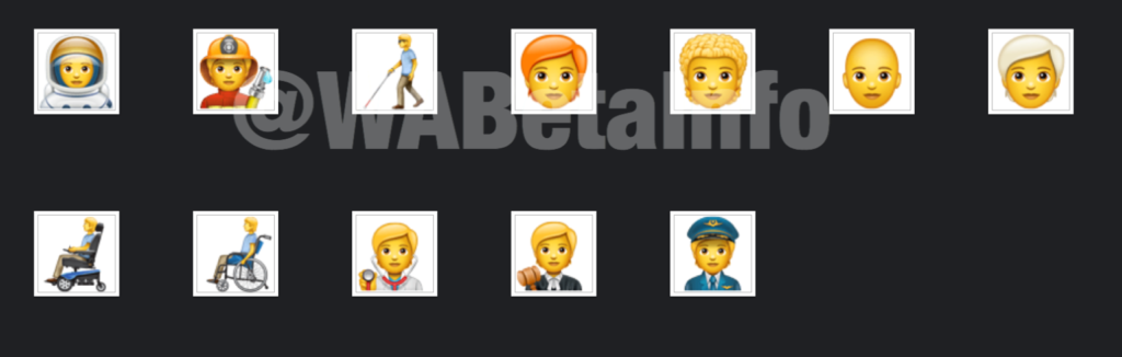 138 new emojis for WhatsApp Android
